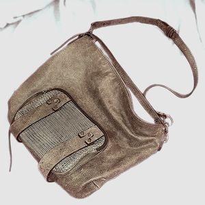 She + Lo Leather Hobo Bag